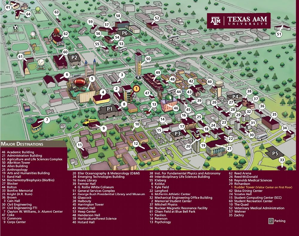 Texas A&M Campus Map | Business Ideas 2013