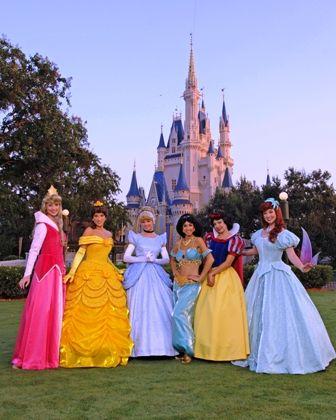 Be a Disney Princess