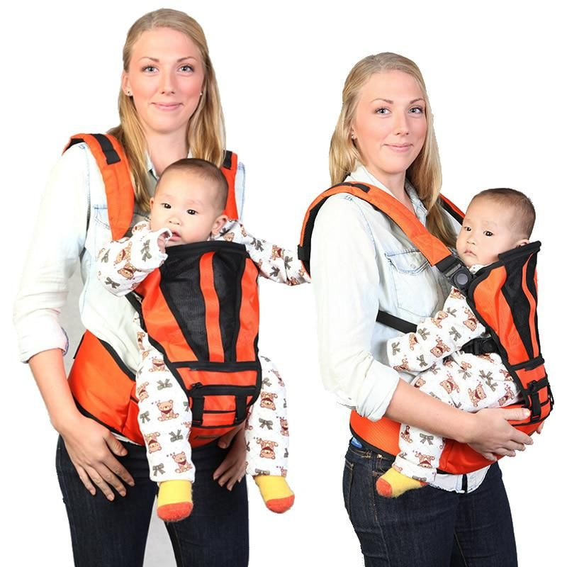 3 Positions Ergonomic Baby Carrier 360 Baby Sling Backpack Infant