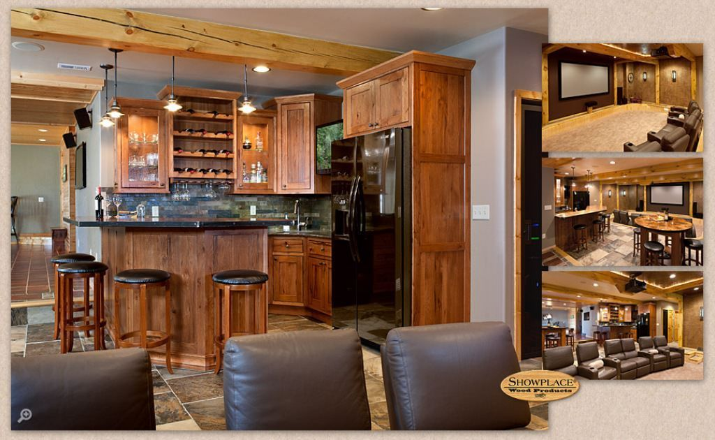 Finest hickory kitchen cabinets in 2020 | Hickory kitchen ...