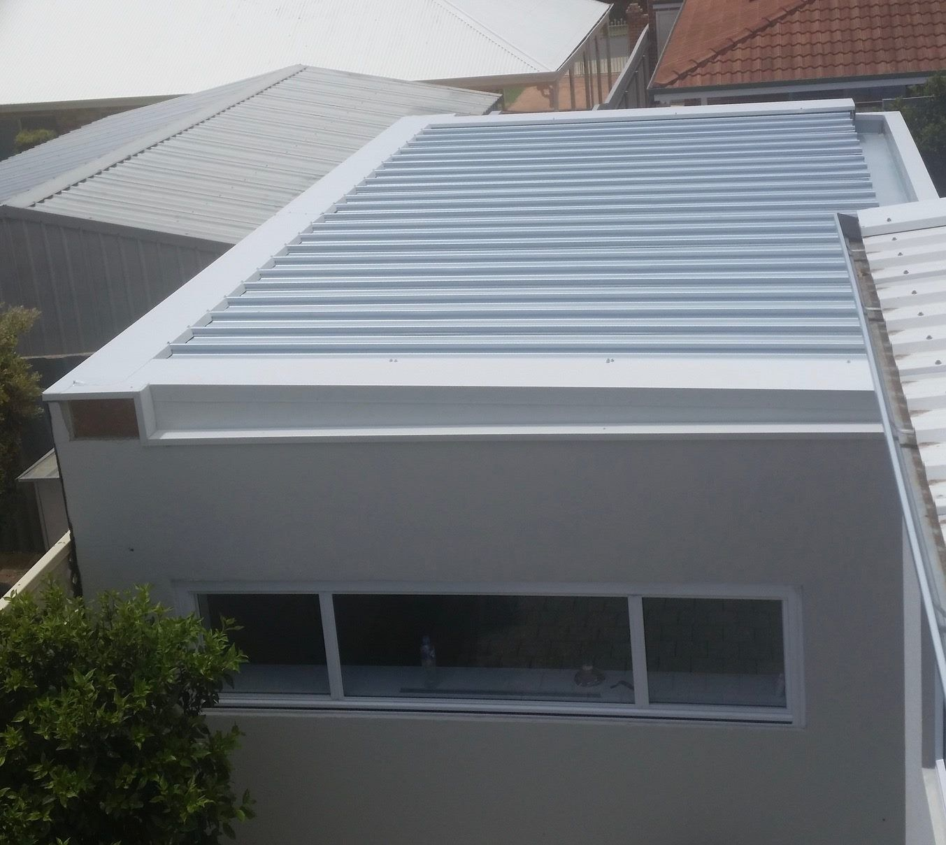 Box Gutter Clip Lock Sheets And Parapet Wall Cappings M A C Roof Plumbing Constructivo Techo