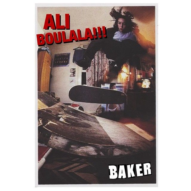 Baker Advert Ali Boulala Skateboard Art Design Grunge Photography Skateboard Art