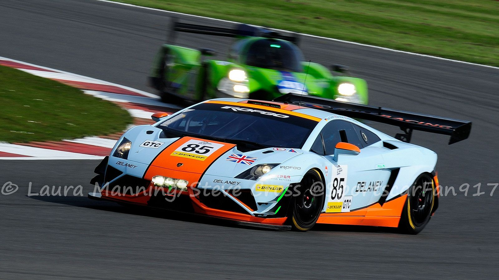 Gulf Racing UK   Lamborghini Gallardo LP560 GT3.