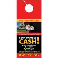 Door Hanger Small Investor 2 Www Yellowletters Com Direct Mail Postcards Door Hangers Postcard Printing