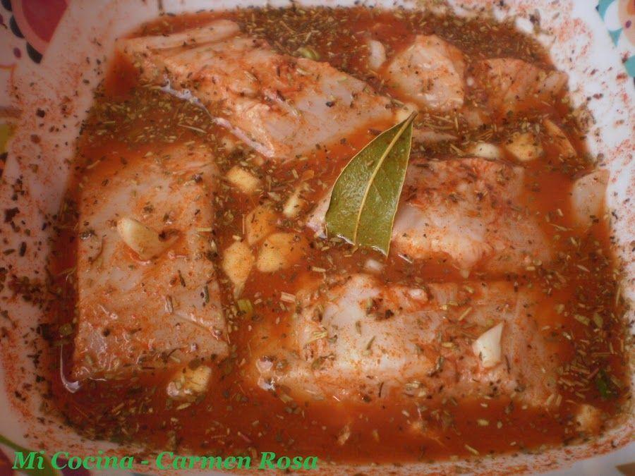 BOQUERONES EN ADOBO (COMO PREPARAR ADOBO DE VINAGRE Y DE LIMON PARA PESCADOS) | Cocina