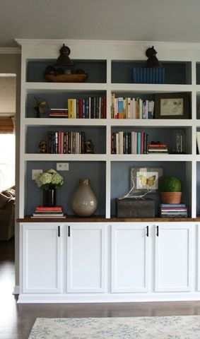 Bookshelves From Thriftydecorchickblogspot