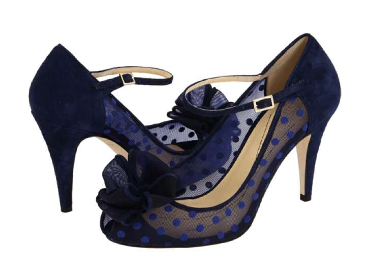 Bridal Shoe Something Blue