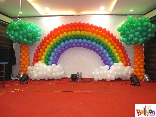 Balloon decorators wedding balloon decoration balloon for Balloon decoration in mumbai