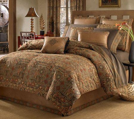 Croscill Yosemite King Comforter Set | QVC, Comforter sets and ...