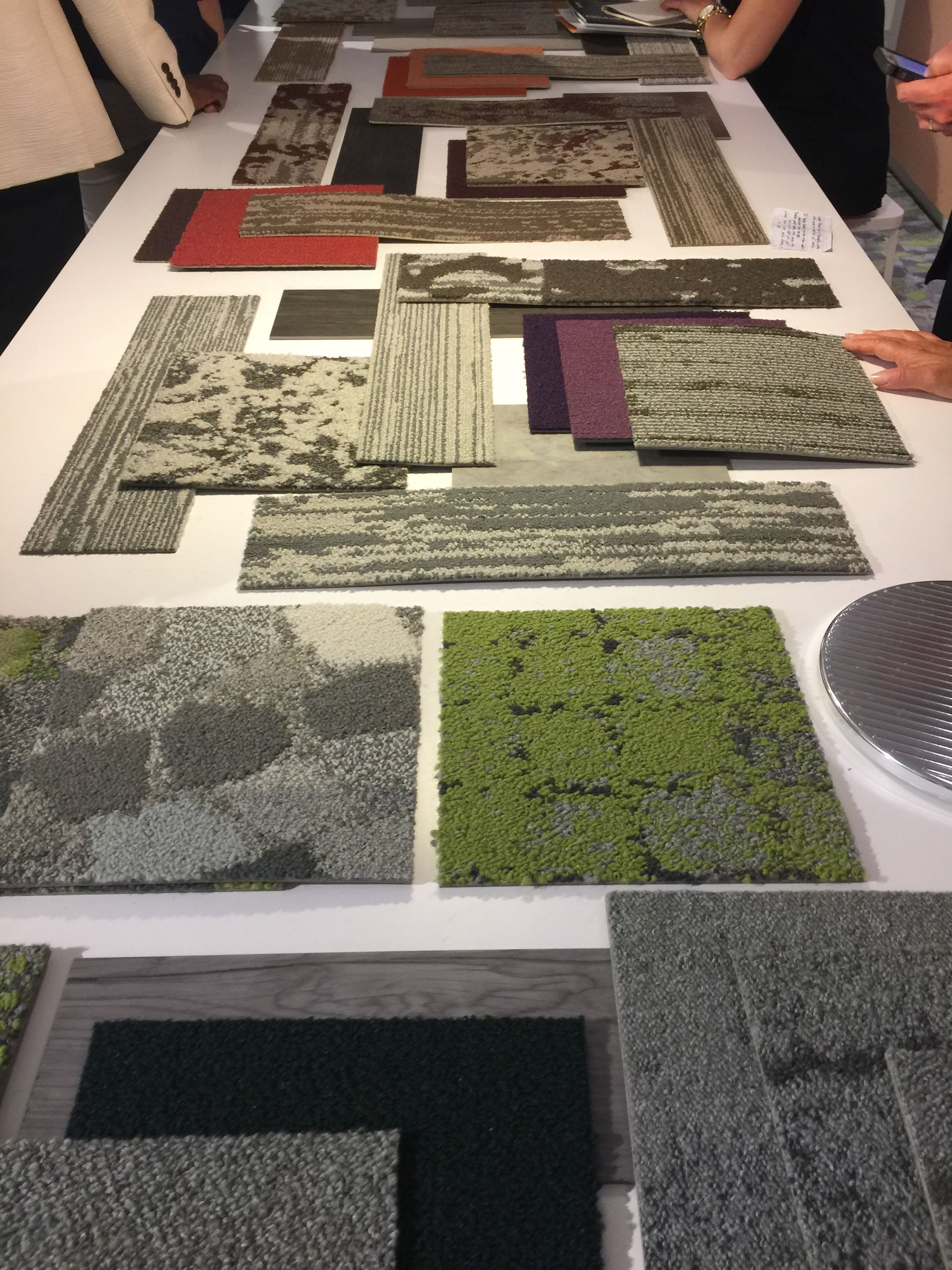Interface Building Positive Spaces With Carpet Tile And Lvt