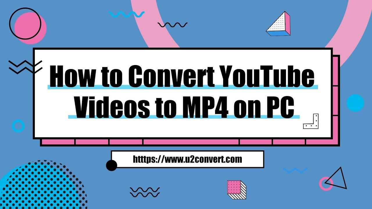 How To Convert Youtube Videos To Mp4 On Windows Youtube Videos Videos Tutorial Youtube