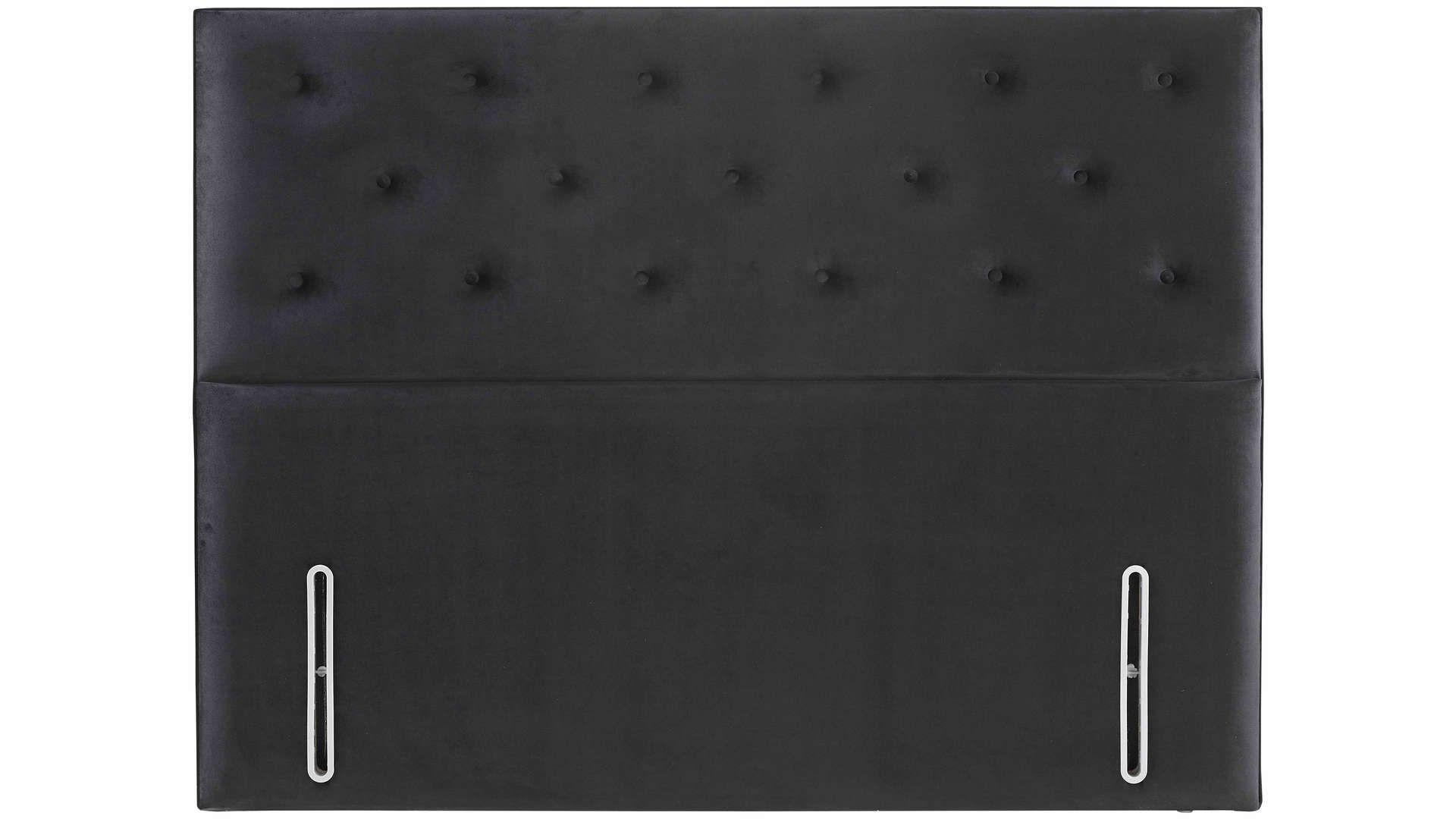 Tete De Lit 140 Cm Eugenie Coloris Noir Tete De Lit Lit 140 Lit 160