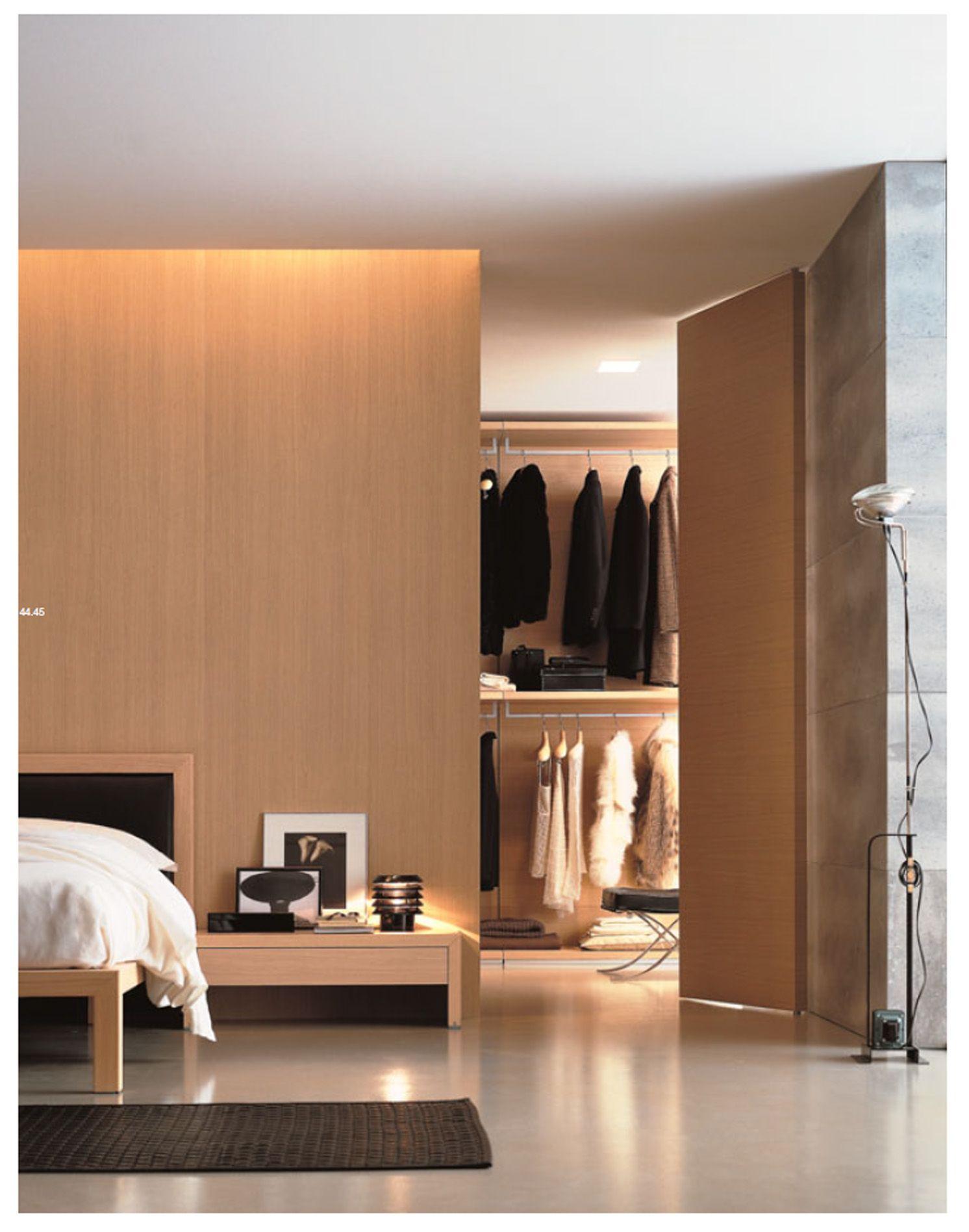 Poliform Closet/ Dressing Room. Secret Door. Cove Light.