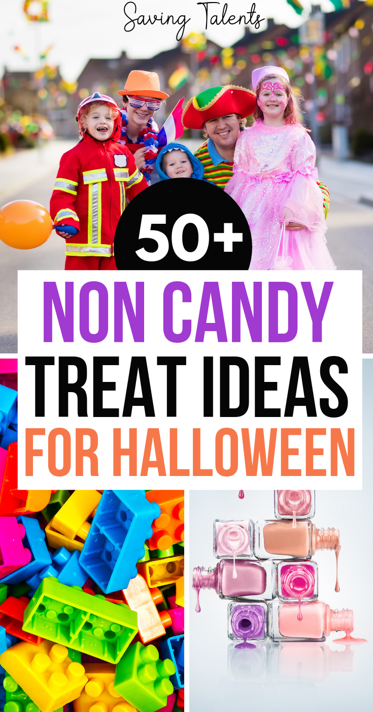 50+ NonCandy TrickorTreat Ideas for Halloween