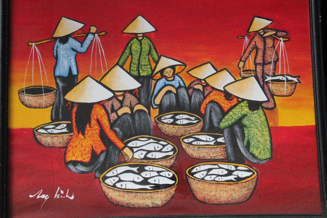Traditional Vietnamese Art   Gorgeous Hoi An   Art, Asian ...