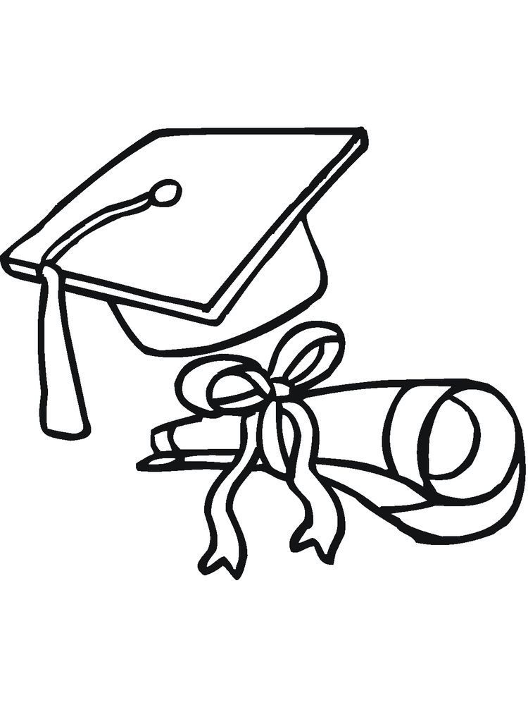 Hello Kitty Graduation Coloring Pages Graduation Day Is A Day That Students Always Look Forward To Whether It S High School Graduation College Or Even Junior