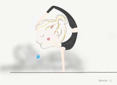 illustrations  all is coming  yoga yoga illustration