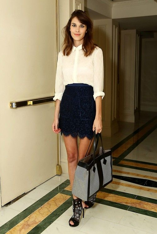 26165c6afb4c10 earlysunsetsovermonroeville: Alexa Chung - At St. Regis in New York  (November 14, 2012)