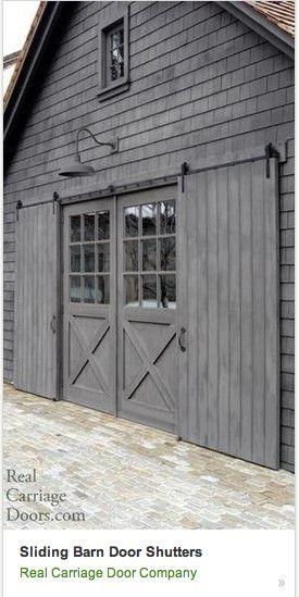Pin By Kyle Snyder On Pole Barn Exterior Barn Doors Barn Door Designs Barn Garage