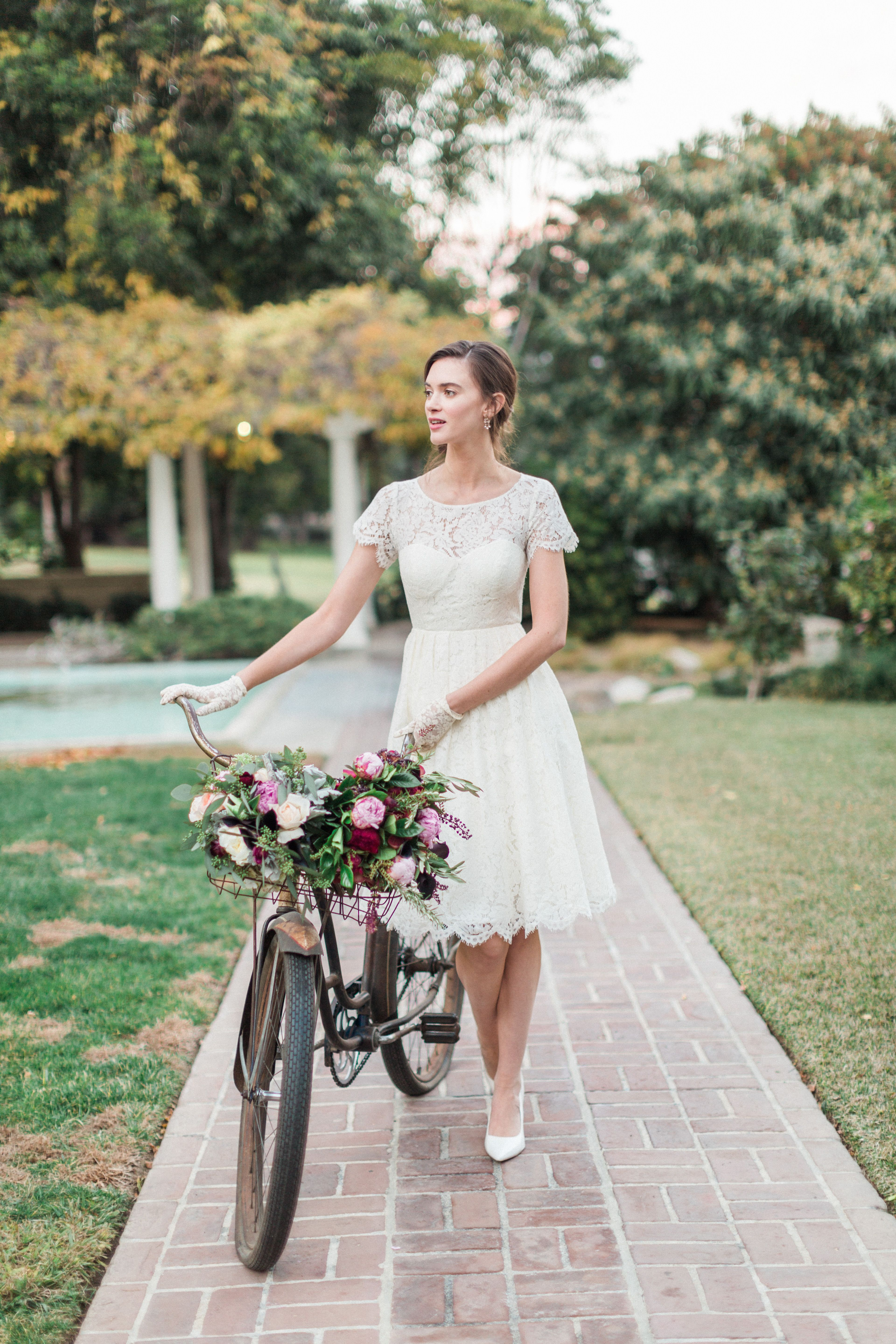 Cadence Dress By Jenny Yoo A Feminine Short Knee Length Creating Diffe Alternative To Traditional Wedding Gown