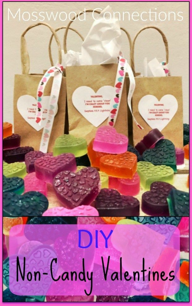 DIY Non-Candy Valentines with Free Printable Valentine
