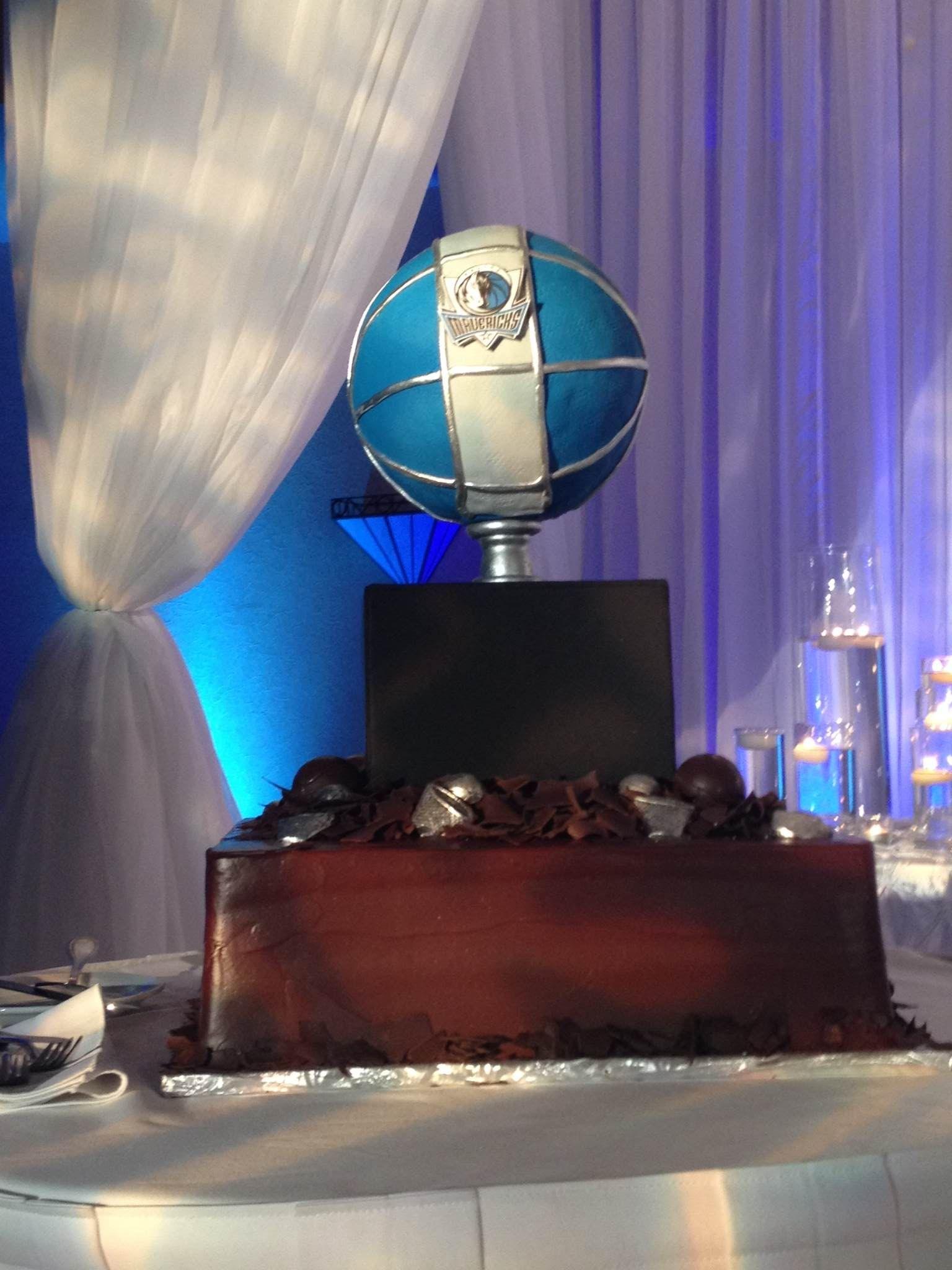 Dallas mavericks cake for groom wedding cake designs