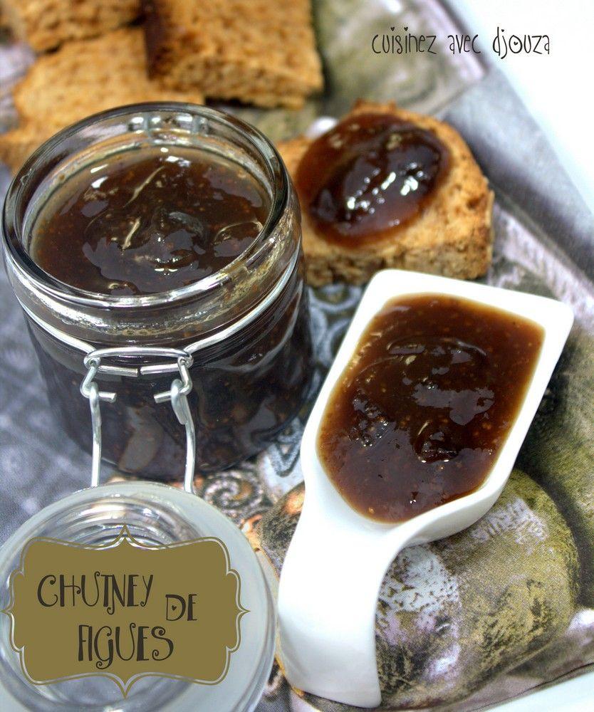 La Cuisine De Djouza: Chutney De Figues Aux épices
