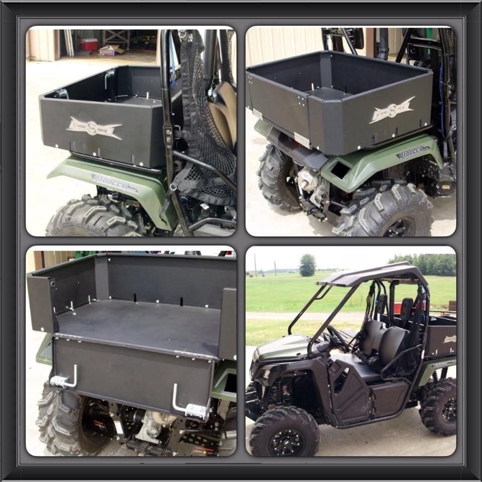 2015 honda pioneer 500 all aluminum cargo bed visit our website