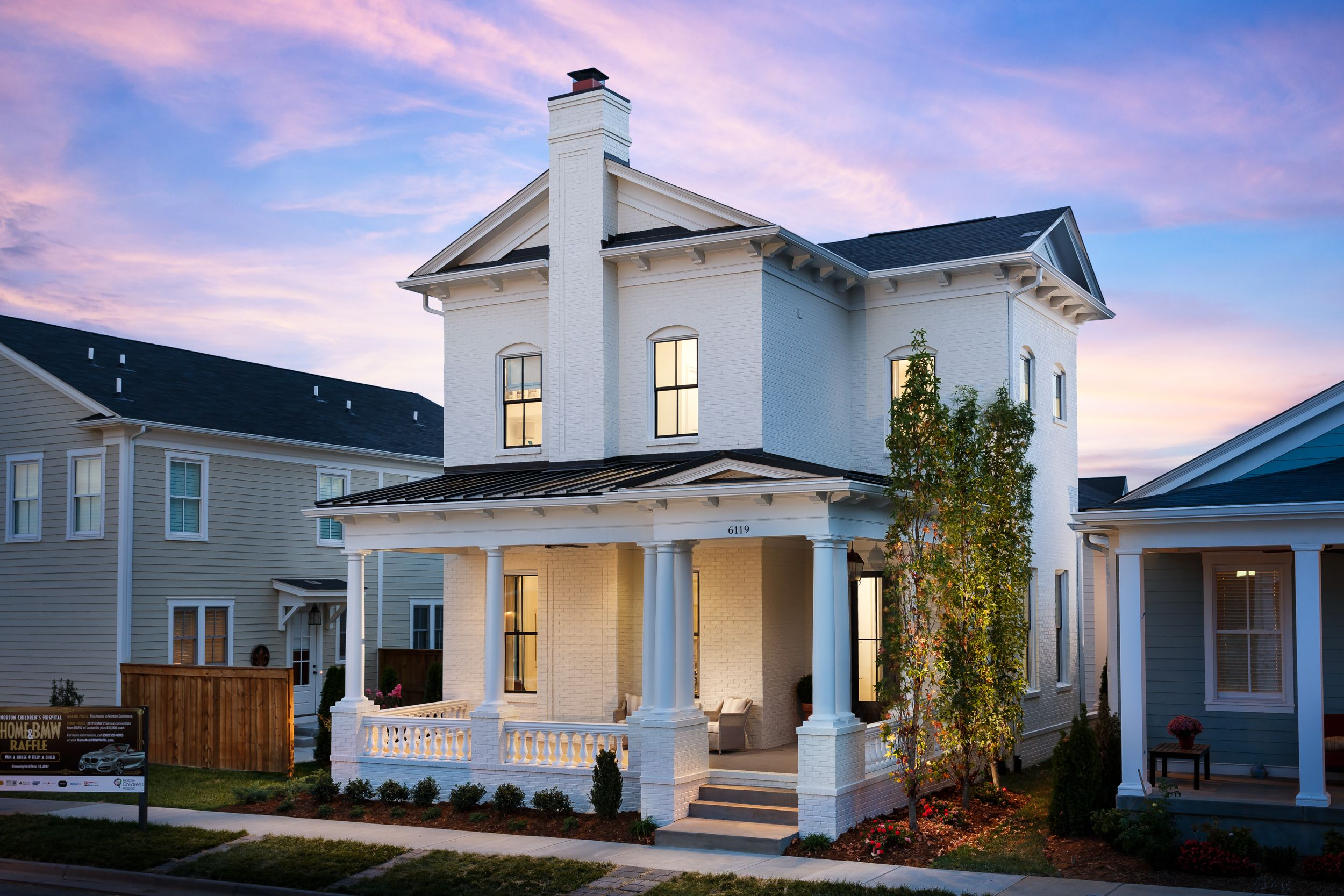 Pin By Norton Children S Hospital On 2017 Home Bmw Raffle Home Metal Roof Houses Home Piedmont