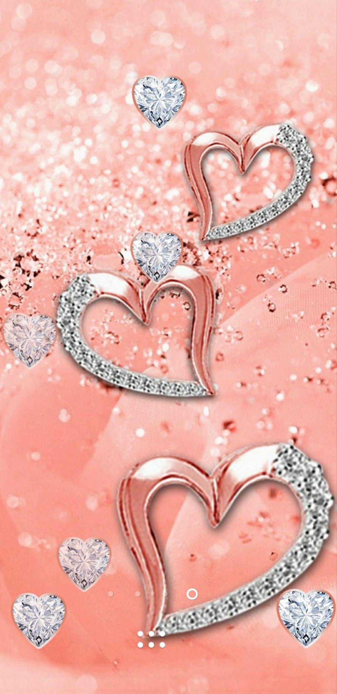 Rose Gold Wallpaper Cellphone Wallpaper Bling Wallpaper Love