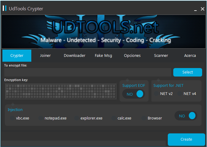UDTools 2 0 FUD | All in One Crypter, Binder, Downloader | Free