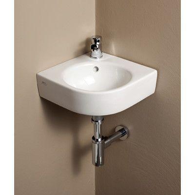 Bissonnet Comprimo Ceramic Specialty WallMount Bathroom Sink With - Bathroom specialty stores