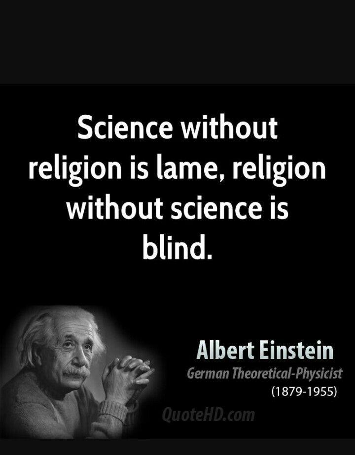 einstein et la religion