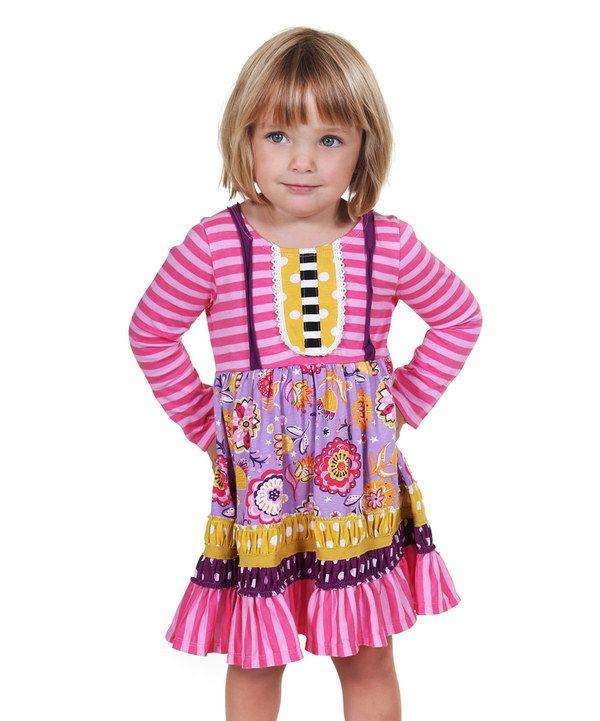 f794748802e This Pink   Yellow Kali Dress - Infant