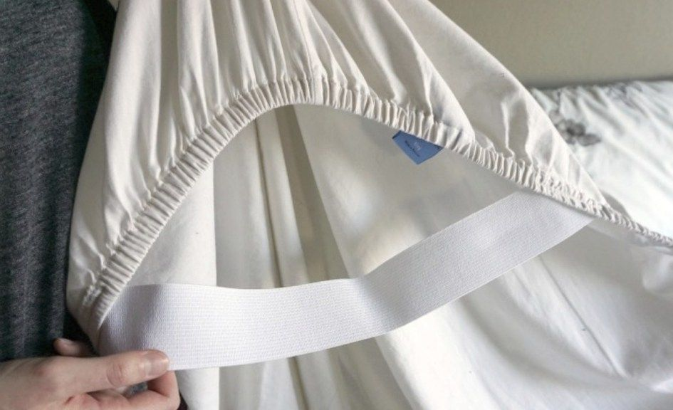 Fix your fitted sheets sewing elastic sewing techniques