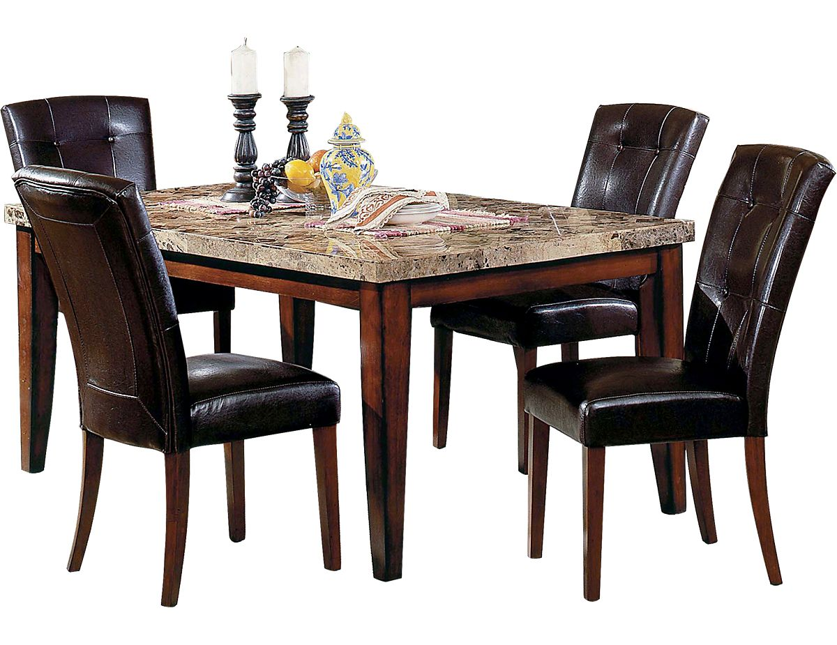 5 Piece Montibello Formal Dining Package Mn500pk5 The Brick Dining Furniture Dining Table