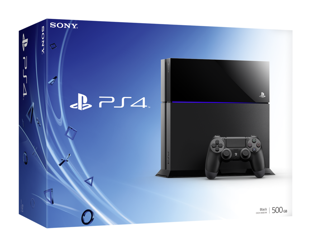Console Playstation 4 Cuh 1000 1100 500 Go Playstation Jeux Video Console