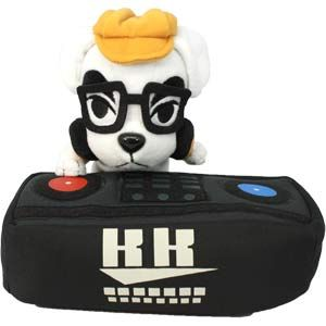 6ca9315366ae44 DJ Totakeke (K.K. Slider) Small Plushie ~ Animal Crossing // And of course,  K.K. Slider! ♥