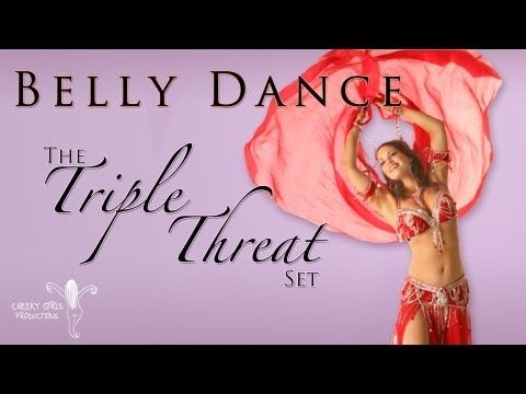 The Triple Threat Set - Belly dance choreography with Michelle Joyce - YouTube