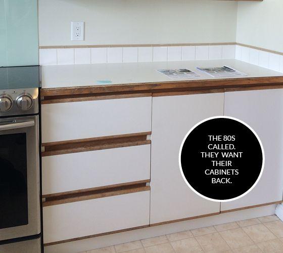 4 Ideas Update European Style Melamine Cabinets 1980 S And 90 S Melamine Cabinets Kitchen Cabinets Makeover Kitchen Cabinet Styles