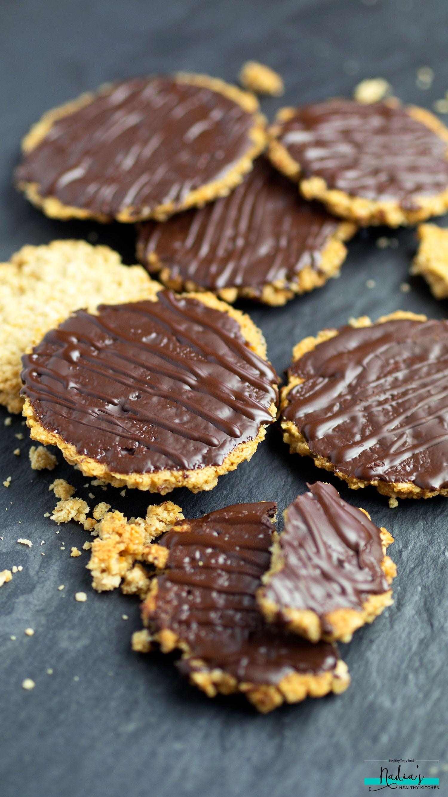 Homemade Chocolate Hobnobs Vegan Gluten Free Recipe Gluten