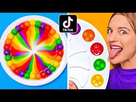 MIXING 10000 SKITTLES    Giant Skittles Rainbow! Science Experiments! 100 Layers By 123 GO!CHALLENGE - YouTube
