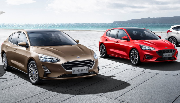 2018 Ford Focus Sedan Colors With