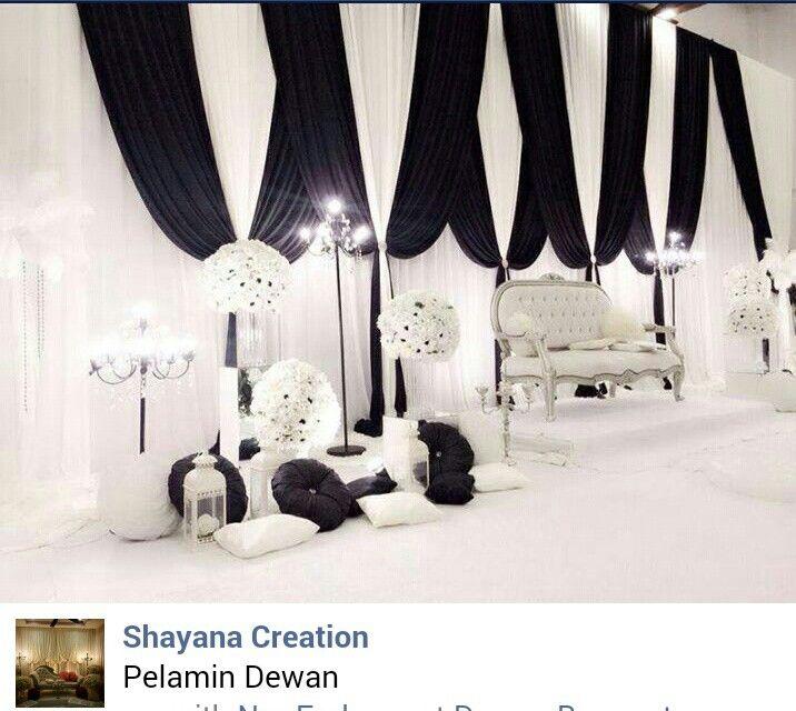 Pin By Ain Juwita On Pelamin Wedding Venue Decorations Malay Wedding Stage Decorations