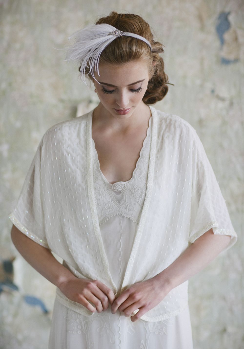 Wedding dress cardigan  Glittering Enchantment Beaded Cardigan for the MOB and MOGus dresses