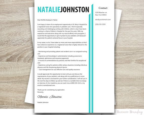 Resume Template Word - PROFESSIONAL Resume Template - Instant - word professional resume template