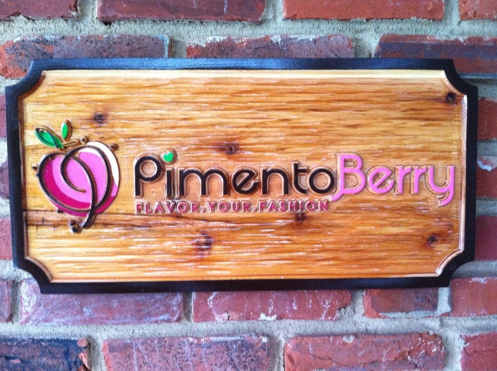 The Carving Company | Full Service Custom Carved Sign Shop | Custom Business Signs - Wood Carved (B12)