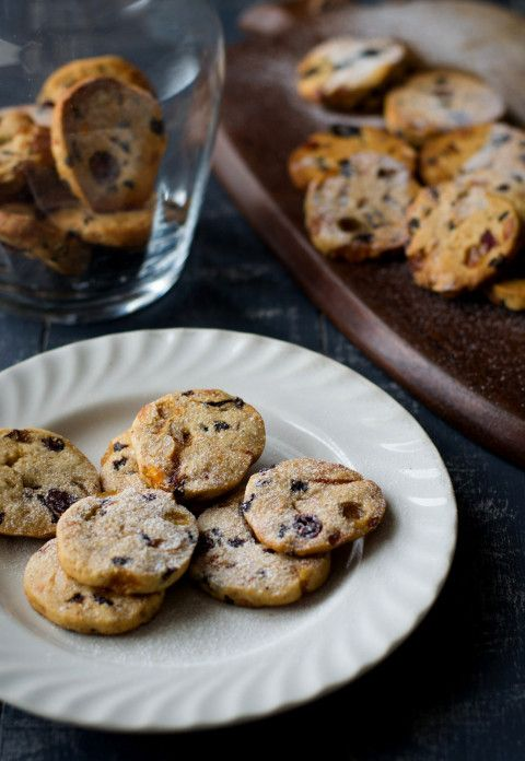 Leftover Mincemeat Fruitcake Cookies : from 'white ramekins'