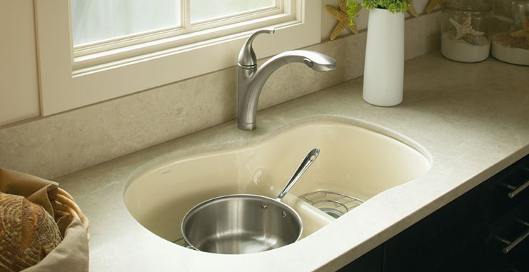 kohler smart divide kitchen sinks love the design but i think rh pinterest com