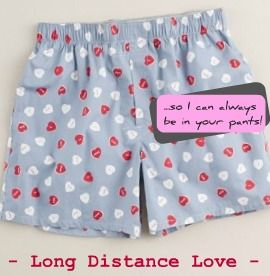 Valentines gift idea for long distance love or just a going away